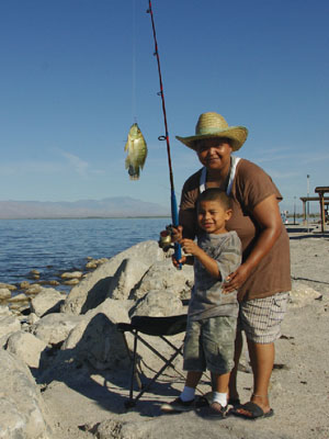 Sea and desert interpretive association places of interest for Places to go fishing